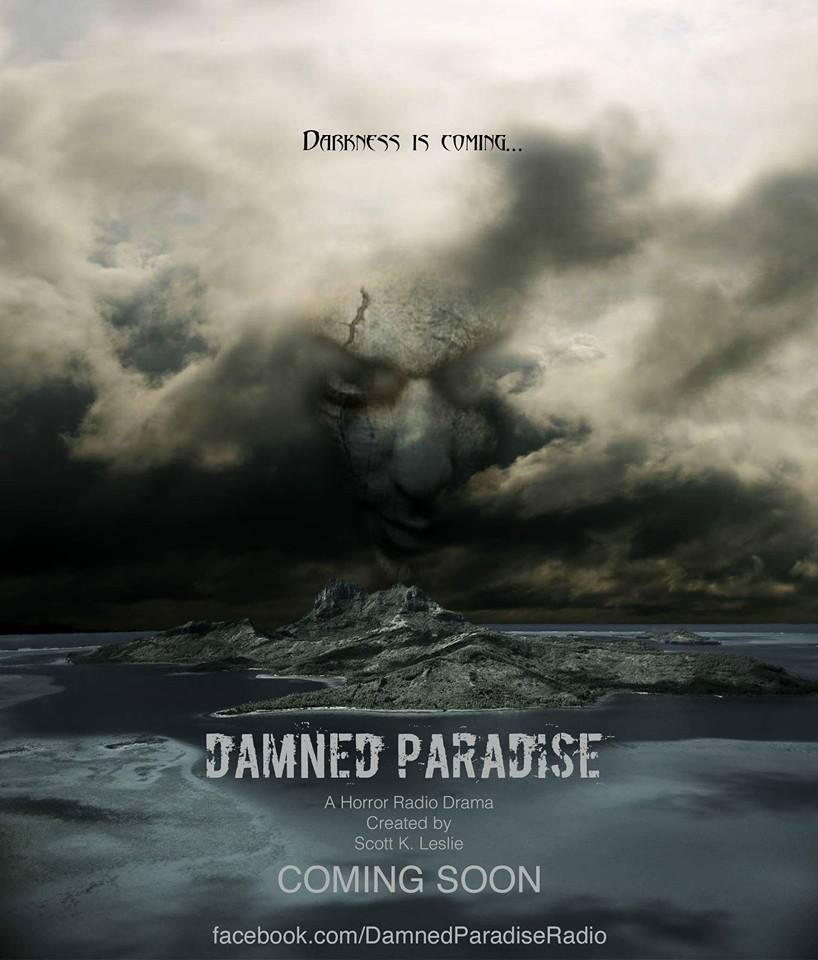 damned paradise promo poster